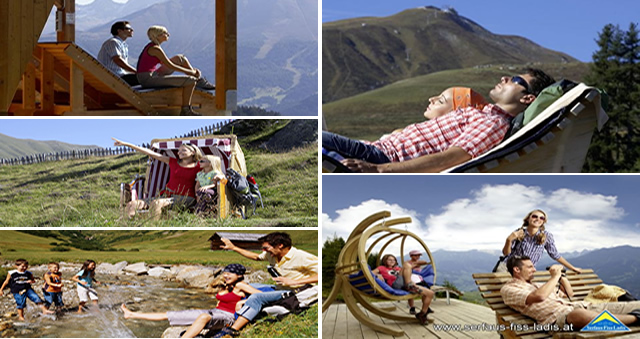 Click and enlarge - 15 feel-good stations in the whole region Serfaus-Fiss-Ladis, Austria