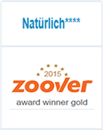 Zoover Award Gold 2015