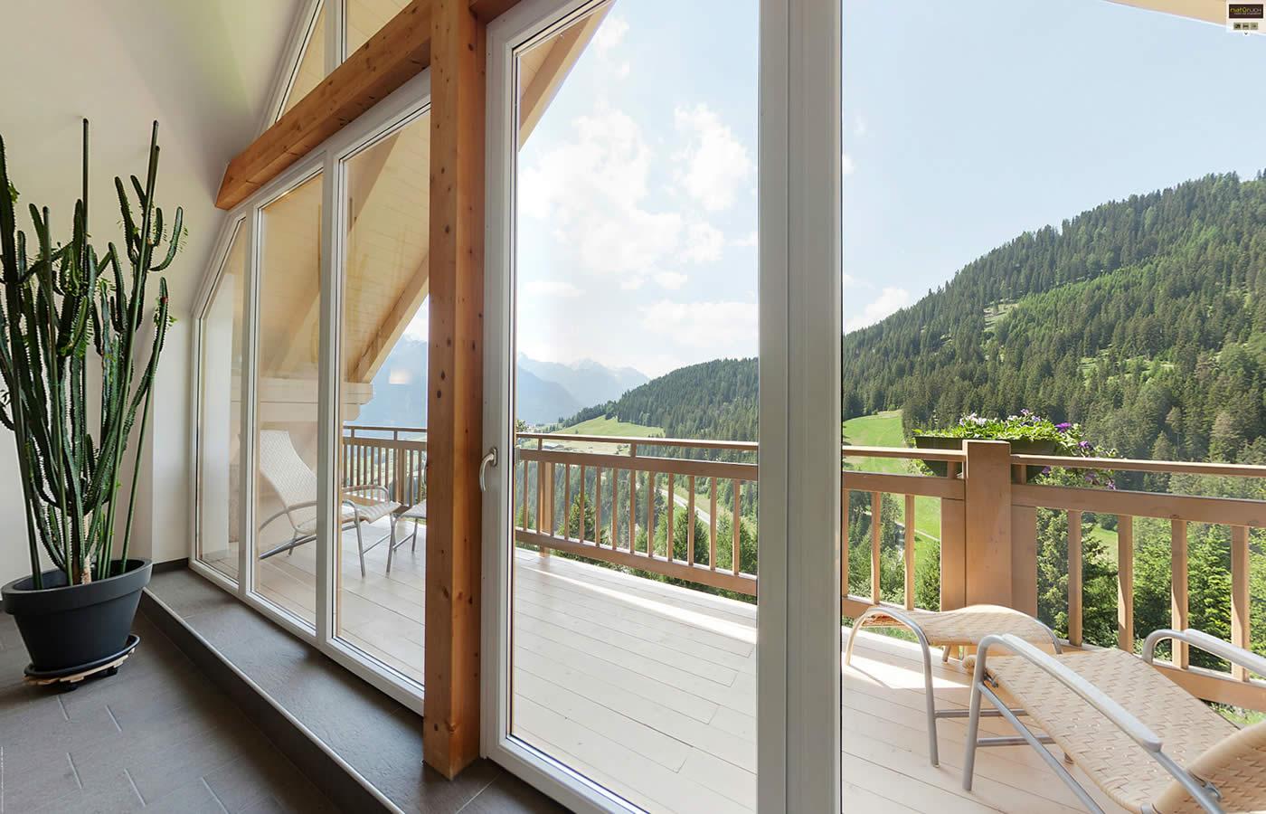 Aussicht Hotel Ruheraum - Sommer-Entspannung in Serfaus-Fiss-Ladis - Tirol.