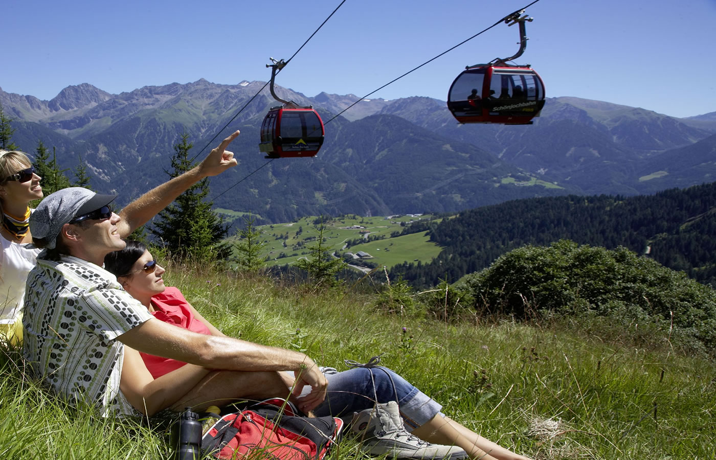 Paare im Hotel Natürlich in Serfaus-Fiss-Ladis, Tirol.