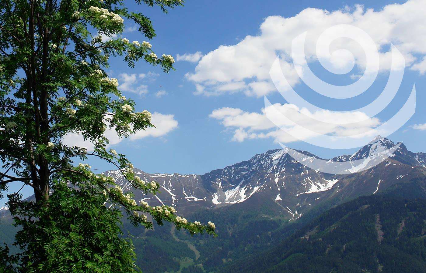 Berge und klare saubere Luft in Serfaus-Fiss-Ladis - Österreich.