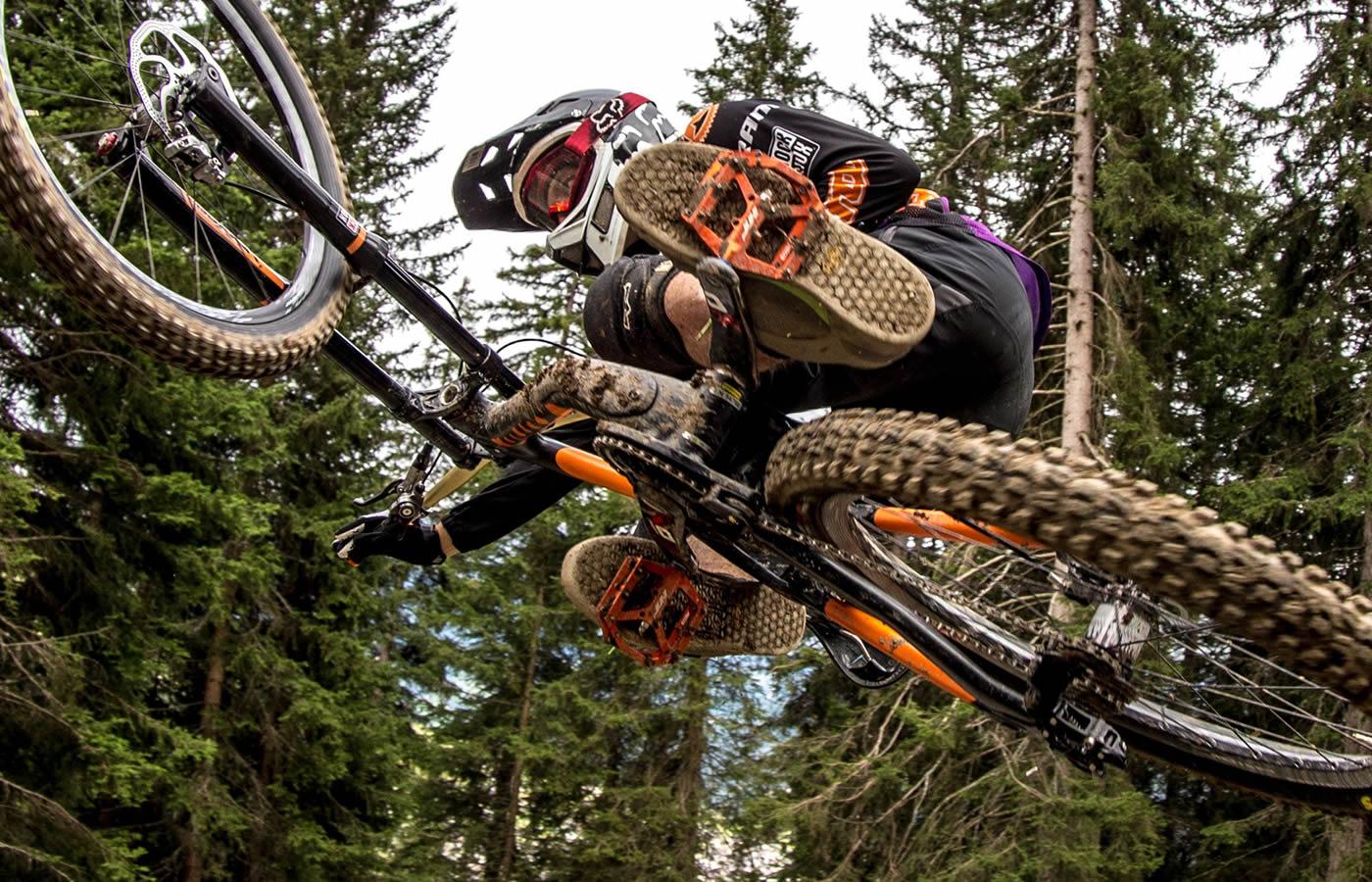 Bikepark Serfaus-Fiss-Ladis in Tirol.