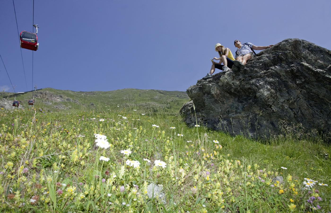 Natur zu zweit genießen in Serfaus-Fiss-Ladis in Tirol.