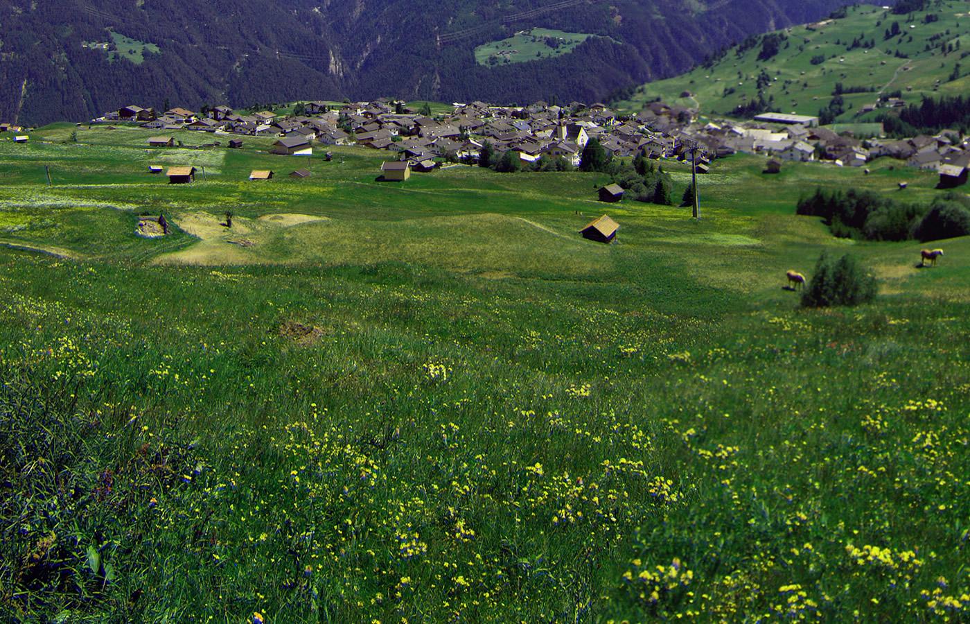 Fiss in Tirol. Natur und das Natürlich. Hotel in Tirol, Österreich.