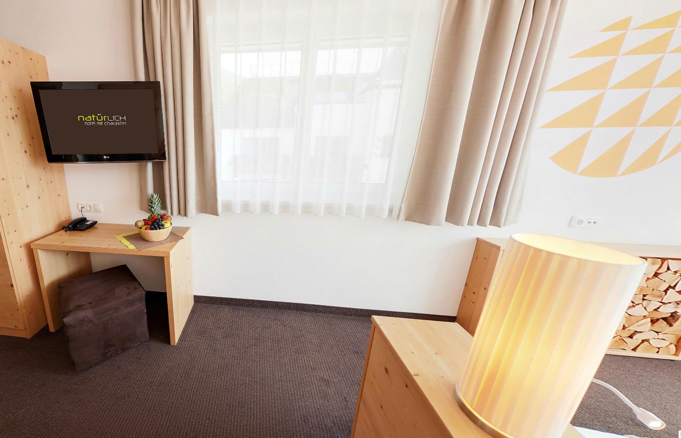 """Suite """"Familienharmonie"""" - Familien - Kinder - Urlaub im Hotel Natürlich in Fiss,"""