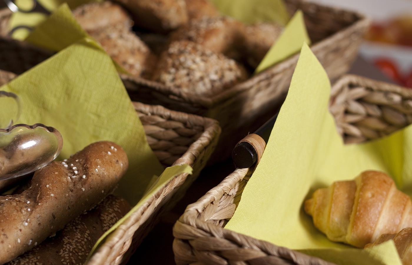 Frühstück im Hotel Natürlich - Brotsorten für Kinder und Erwachsene.